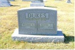 Birdie C. <i>Johnston</i> Dukes