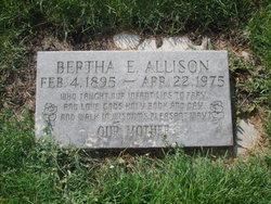 Bertha E Allison