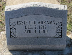 Essie Lee Abrams