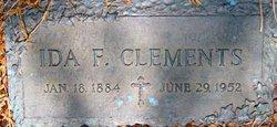 Ida F. Clements