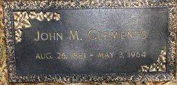 John M. Clements