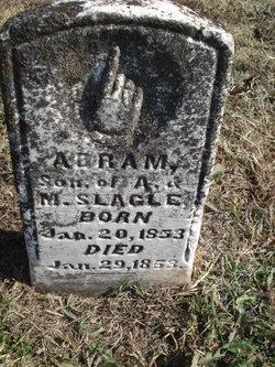 Abraham C Slagle, Jr