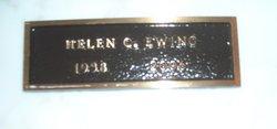 Helen <i>Carroll</i> Ewing