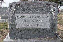 Lycurgus C Christian