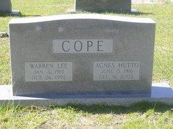 Agnes <i>Hutto</i> Cope