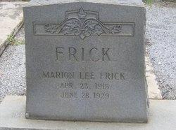 Marion Lee Frick