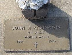 John A. Arrington