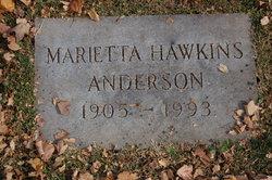 Marietta <i>Hawkins</i> Anderson