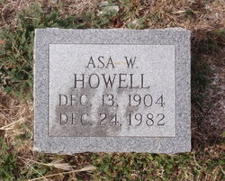 Asa Willie Howell, Sr