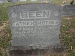 Mary Joanna <i>Carter</i> Been