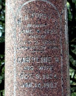 Caroline <i>Hamilton</i> Forsyth