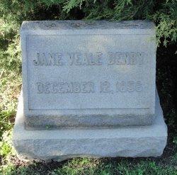 Jane <i>Veale</i> Denby