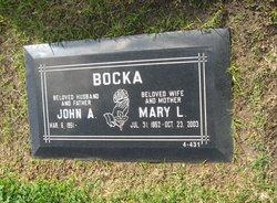 Mary Linda <i>Burke</i> Bocka
