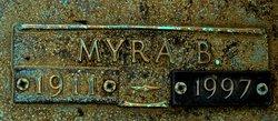 Myra Eva <i>Barker</i> Barker