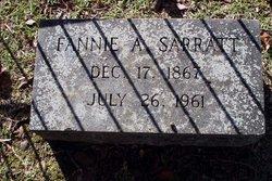 Fannie <i>Amos</i> Sarratt