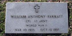 William Anthony Sarratt