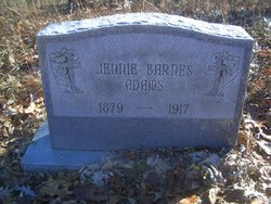 Jennie <i>Barnes</i> Adams