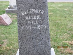 Belender <i>Bull</i> Allen