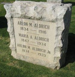 Arlon Mann Aldrich, Sr