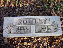 Alice G Rowley