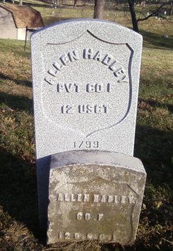 Pvt Allen Hadley