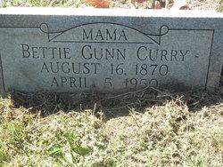 Bettie <i>Gunn</i> Curry