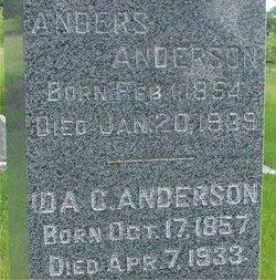 Ida Charlotta <i>Wester</i> Anderson