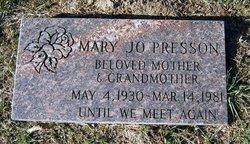 Mary Josephine <i>Davidson</i> Presson