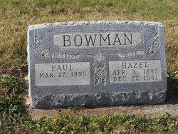 Hazel <i>Smiley</i> Bowman
