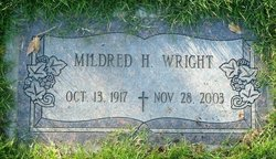 Mildred Virginia <i>Hughes</i> Wright
