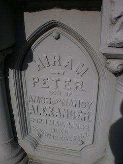 Hiram Peter Alexander