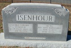Ida Jane <i>Barnhardt</i> Isenhour