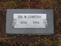 Ida Ellen <i>Williams</i> Compton