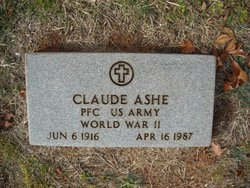 PFC Claude Coulter Ashe