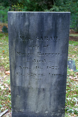Sarah <i>Hill</i> Barrett