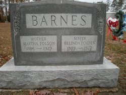 Belinda <i>Forbes</i> Barnes