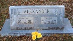 Lou Ella <i>Boyd</i> Alexander