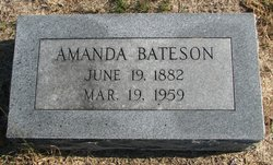 Amanda Bateson