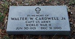 Walter W Cardwell, Jr