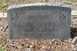 Benjamin Duncan Bouldin