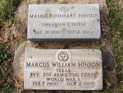 Marcus William Hinson