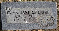 Emma Jane McDaniel