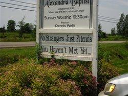 Alexandra Baptist Church Cemetery