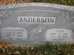 Edith Virginia <i>Memmott</i> Anderson