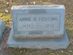 Annie <i>Dodenhoff</i> Fickling