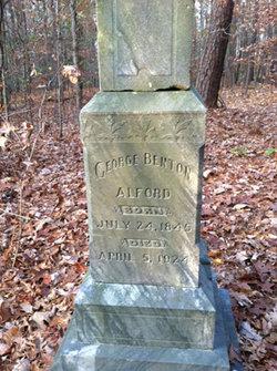 Col George Benton Bent Alford