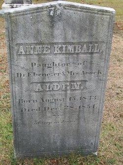 Ann Kimball Alden