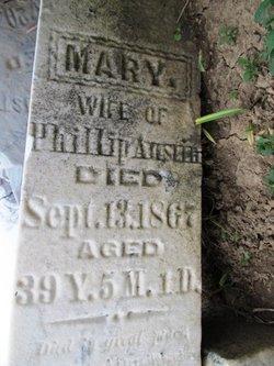 Mary <i>Phillips</i> Austin