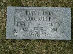 June L <i>Lyon</i> Coolbaugh