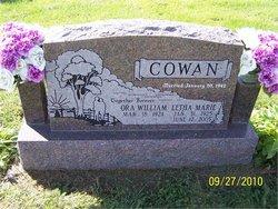Ora William Jack Cowan